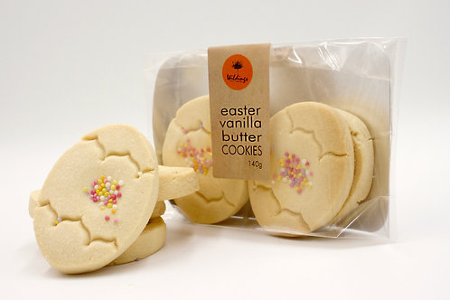 Easter Egg Butter Cookies