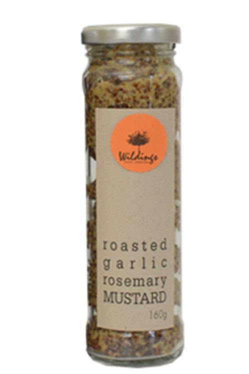 Roasted Garlic + Rosemary Mustard
