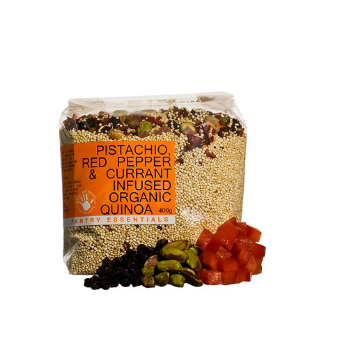Quinoa - Pistachio, Red Pepper & Currant 400g