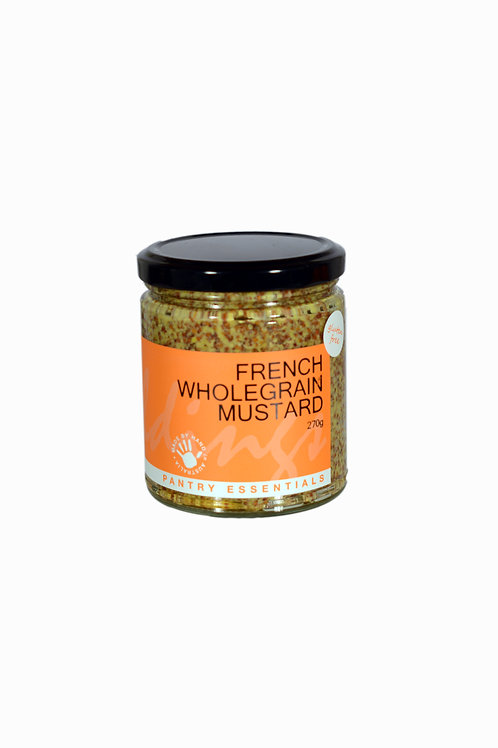 French Wholegrain Mustard 270g
