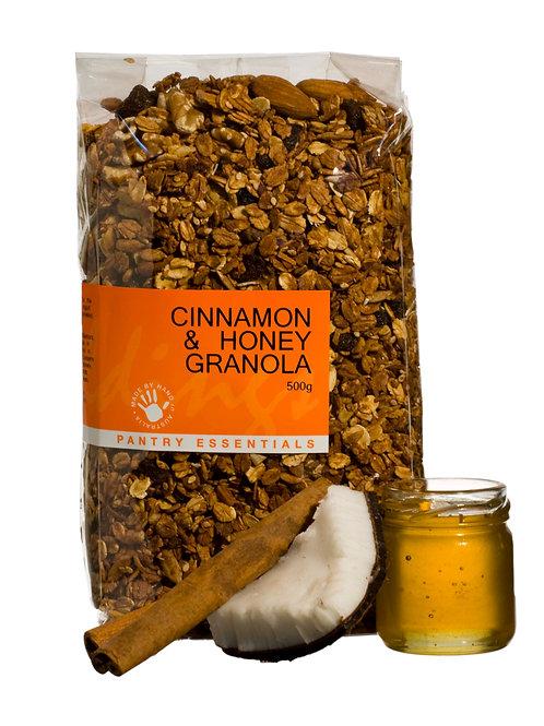 Cinnamon & Honey Granola 500g