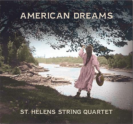 Saint Helens String Quartet's first recording on Navona records