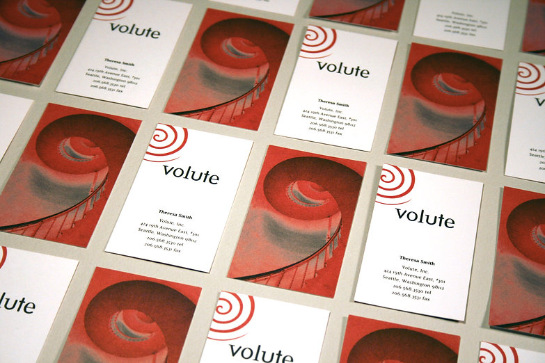 Sayre Coombs Design: branding for Volute, a Seattle non-profit