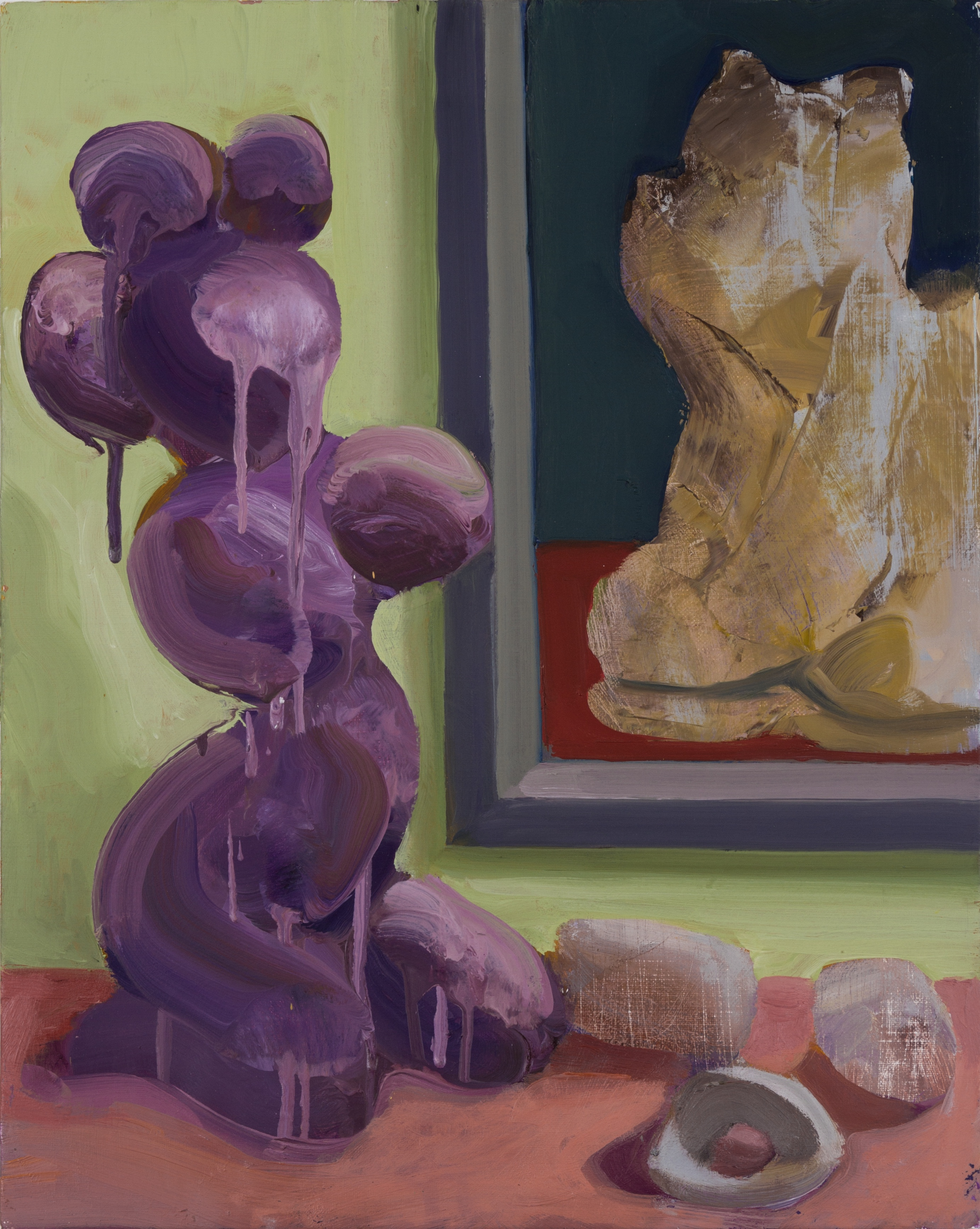 Painting Contemplates Sculpture