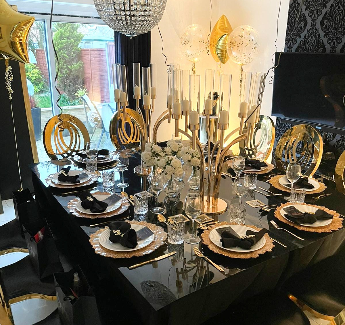 Private Dining Setting