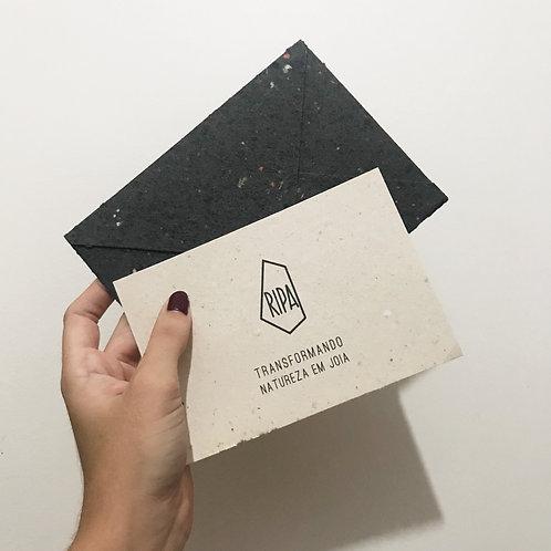 Cartão e Envelope
