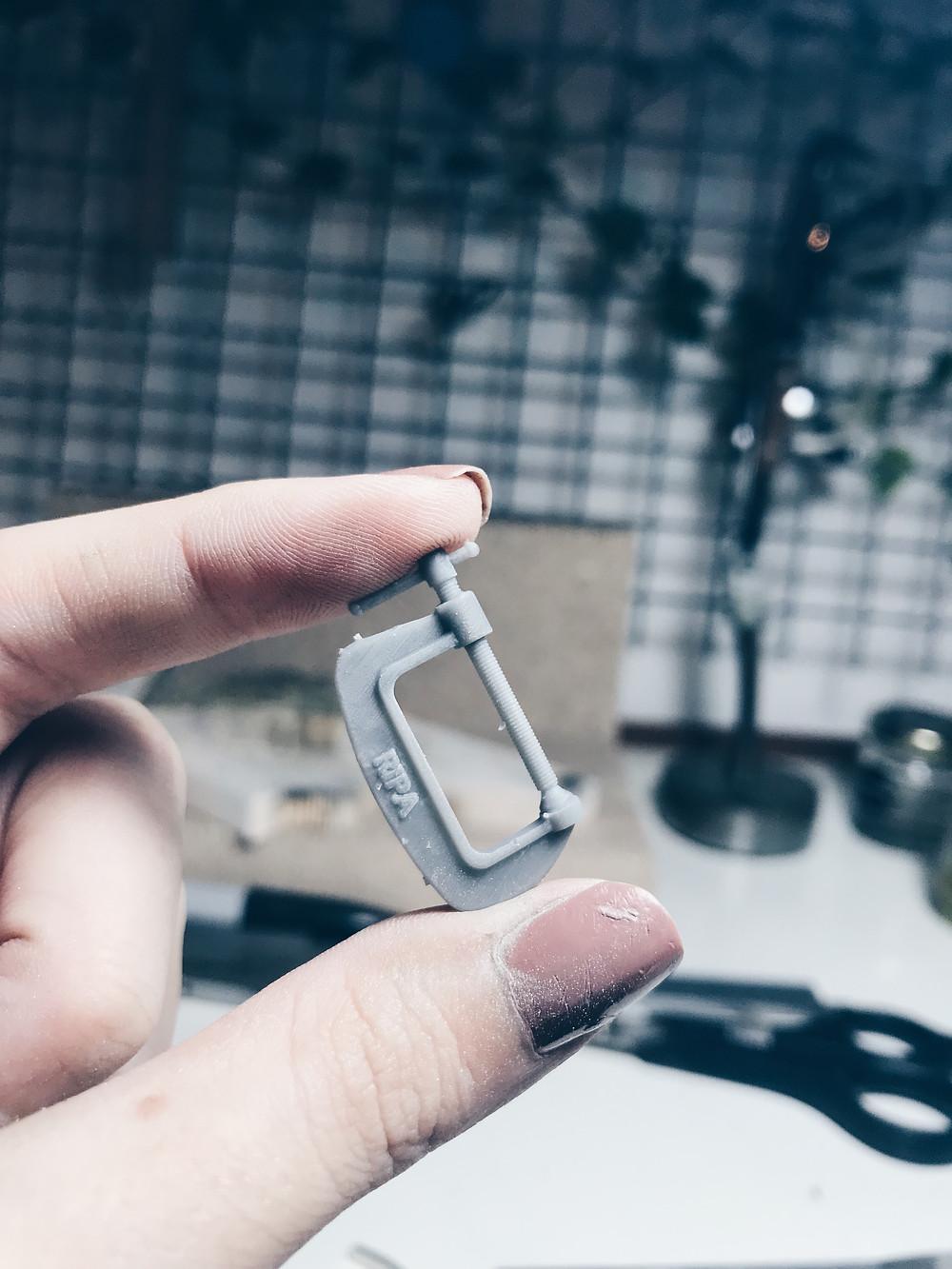 Ripa   Impressão 3D   Sargento