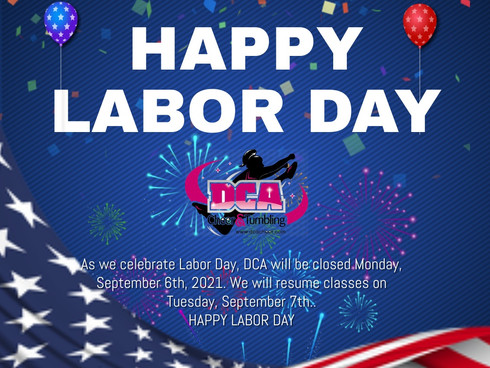 Closed Monday, September 6th for Labor Day!