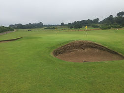 Nairn Golf Club short game practice area