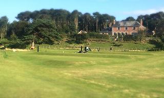 Nairn Golf Club driving range