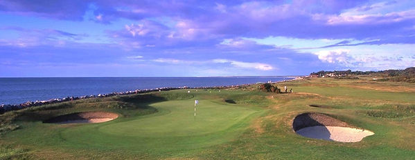 Nairn Golf Club 4th green