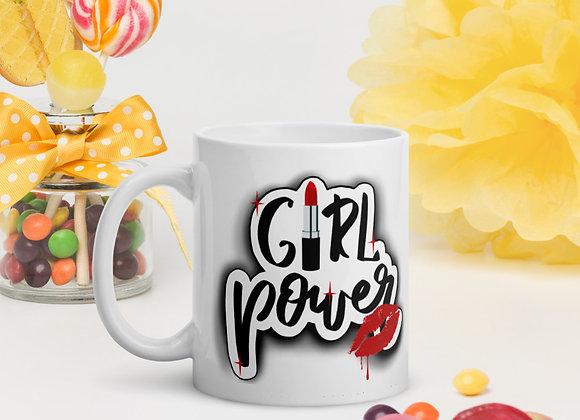 Mug By Azraelle #girlpower