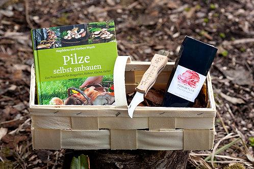Geschenkkorb für Pilzfans