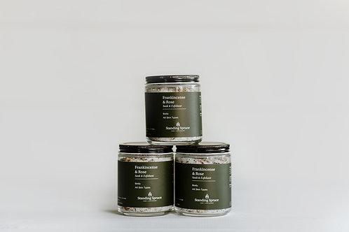 Frankincense & Rose Body Scrub / Exfoliant | 6oz