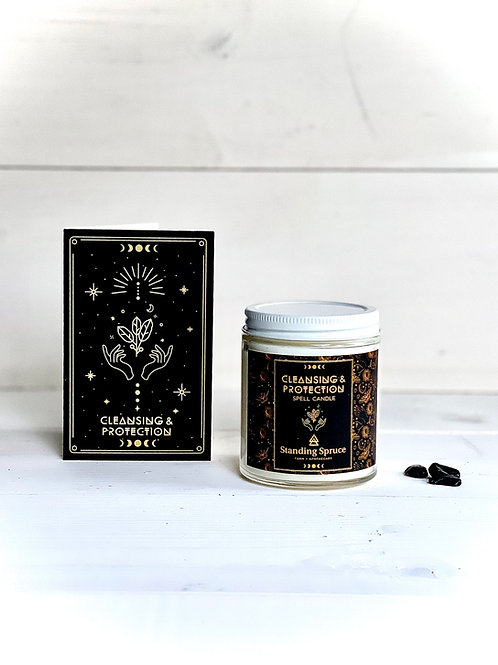 Spell Candle - Cleansing + Spiritual Protection