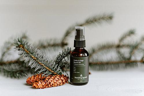 Cedar & Sage Beard Oil | 50ml