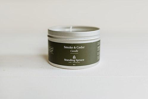 Smoke & Cedar Candle   8oz