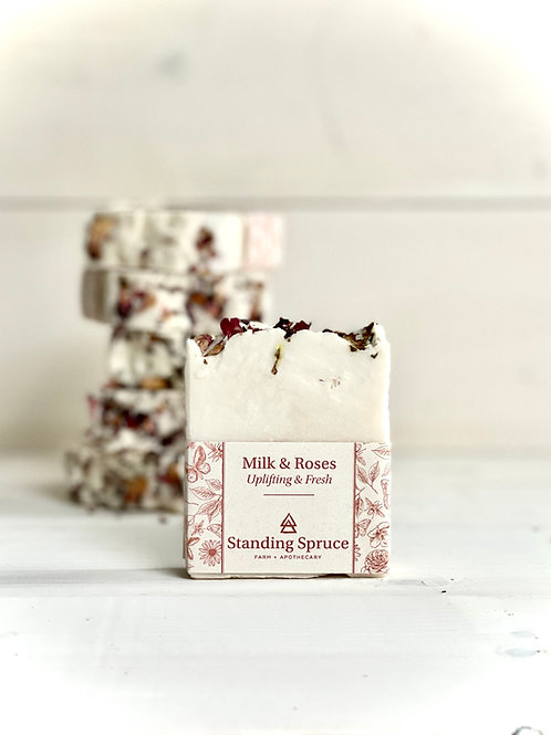 Milk & Roses Soap