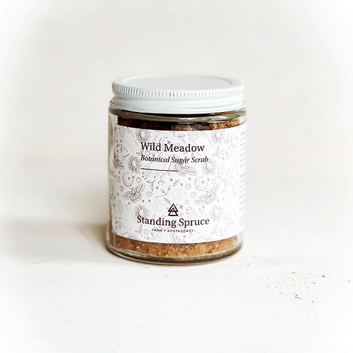 Wild Meadow Sugar Scrub 6oz