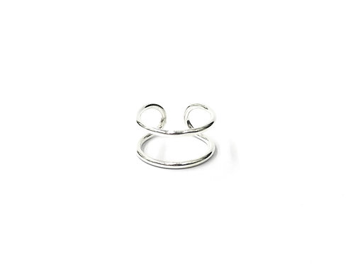 Parallel plain toe ring (#7321-49)