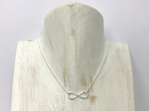 Infinity wire necklace (#F088N)