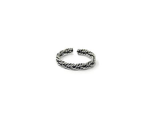 Braid twist toe ring (#7321-53)