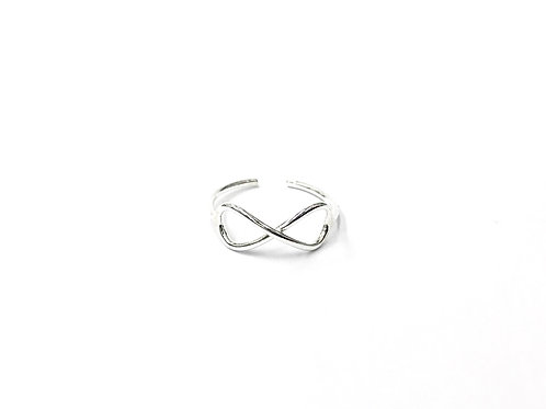 Infinity toe ring (#7715R66)