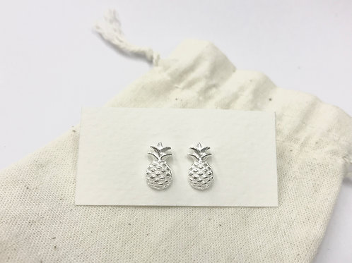 Pineapple ear stud (#A0930E)