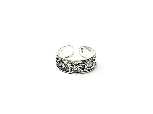 Swirl toe ring (#7321-70)