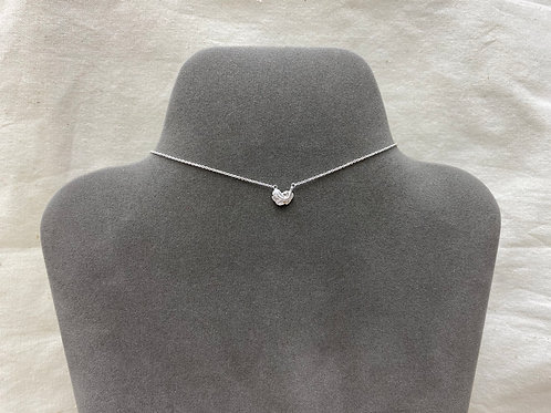 Thick feather necklace (#A1246N)