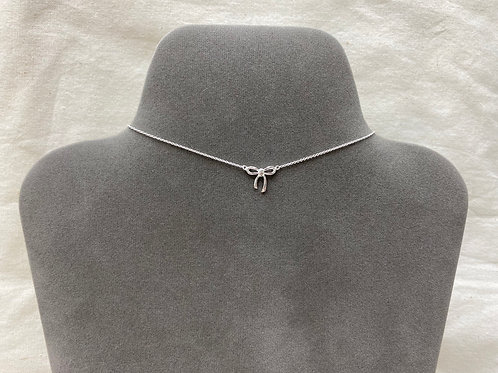 Thin ribbon necklace (#A0138N)