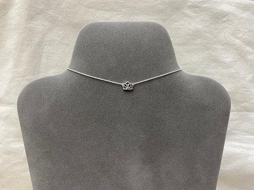 Big lotus necklace (#A1323N)