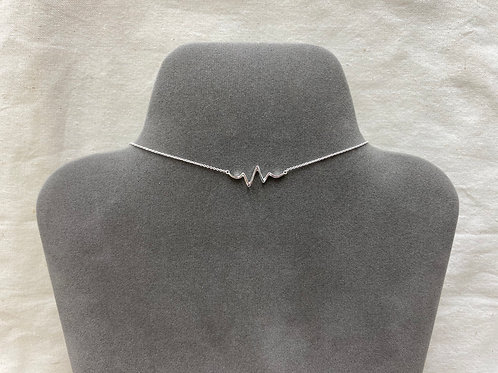 Large life sign necklace (#A1446N)