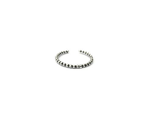 Dotted toe ring (#7321-21)