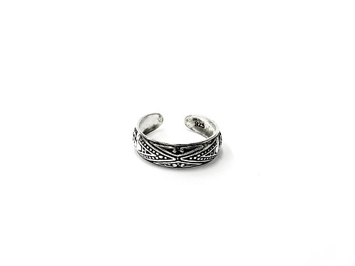 Bali style toe ring (#7321-7)