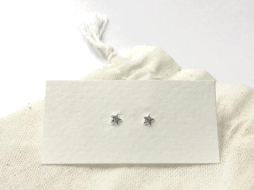 Mini shiny star ear stud (#A1156E)
