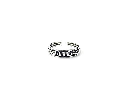 Weaving bali style toe ring (#7321-39)
