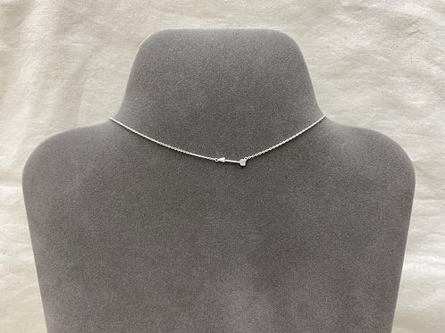 Tiny arrow necklace (#A1055N)