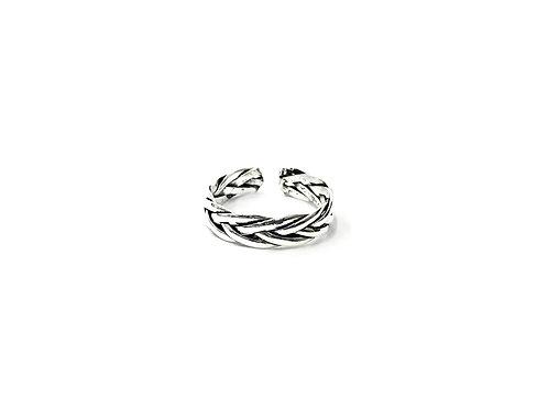 Braid plain toe ring (#7321-55)