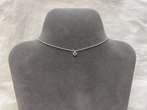 Sun radiant necklace (#A1205N)
