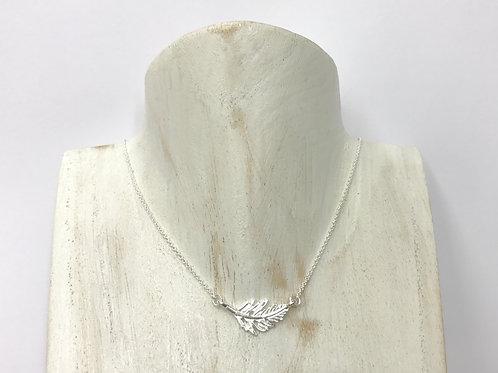 Fern leaf necklace (#A0202N)