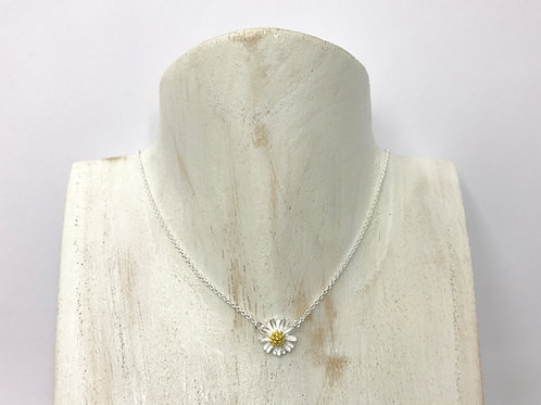 Chamomile flower necklace (#A0152N)