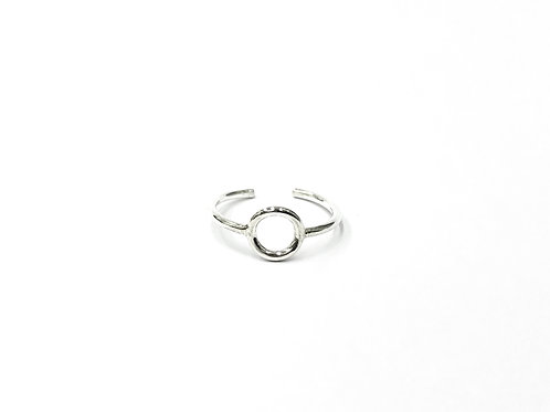 Mid hoop toe ring (#7321-41)