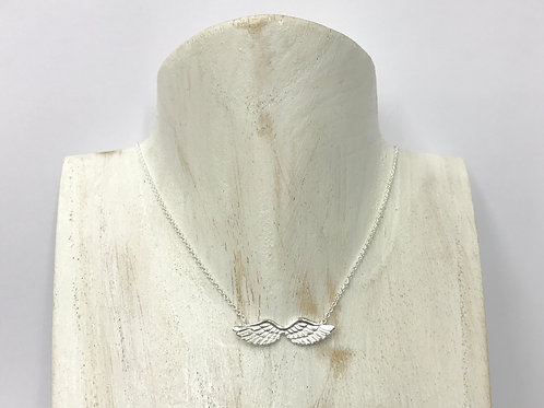 Angel wing necklace (#A0139N)