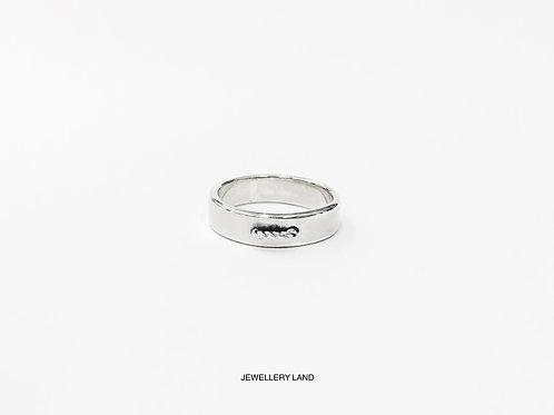 Mid-stitch ring