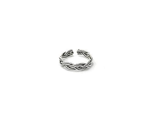 Braid 2-line toe ring (#7321-45)