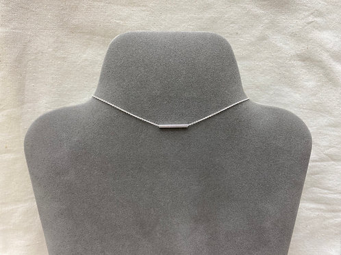 2.2x20mm tube necklace (#N067)