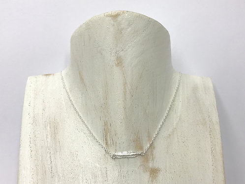Mini feather necklace (#A1093N)