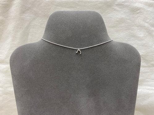 Wishbone necklace (#A0937N)