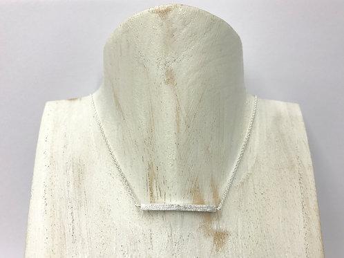 Satin sq-bar necklace (#N24/SC)